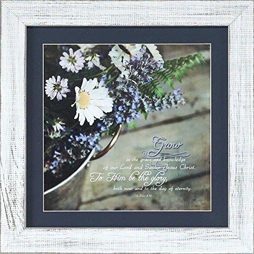 Dicksons Glory Daisy Bouquet Lavendel Zweige 12x 12Holz Wandschild Aufschrift - Daisy Bouquet Wand