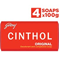 Cinthol Original Bath Soap, 100g (Pack of 4)
