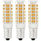 3X E14 7W Ampoule LED,450LM ( Equivalent 40W Ampoules halogènes/ Incandescente ) Blanc Chaud 3000K, 360° angle de faisceau,AC 220-240V