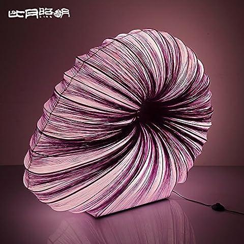 wangjialin-Manual chino moderno romántico dormitorio salón restaurante creativo clásico nueva lámpara de piso de mar ,02