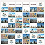Trendfinding® Fotovorhang 10 x 15 cm Querformat Foto Bilder Postkarten Format Fotowand Fotogalerie Fototaschen Fotohalter Taschenvorhang Fotos (48 Fotos Querformat 10x15)