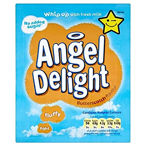 Angel Delight No Added Sugar Butterscotch (47g) - Pack of 6