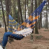 DSTong Single/Double Outdoor Garden Camping Hammock