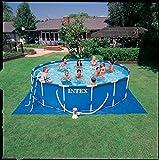 Intex Metal Frame Pool Set - Aufstellpool -  Ø 457 x 107 cm - Zubehör enthalten