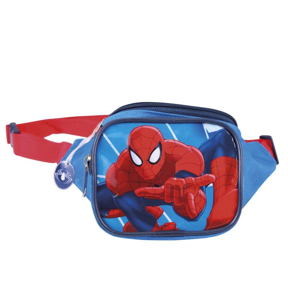 Qualität zuerst beispiellos vielfältig Stile Kinder Gürteltasche Marvel Spiderman - Hüfttasche mit Frontaldruck aus  Spider Man - Bauchtasche für Kinder für die Schule und Kindergarten -  13x23x9 ...