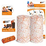 Blackroll Orange (Das Original) - DIE Selbstmassagerolle - Twin-Set MED (inkl. Übungs-DVD, -Poster und -Booklet)