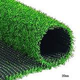 WENZHE Rasenteppich Rasenteppich Kunstrasen Kunstrasenteppich Kunststoff Grüner Teppich Draussen Innen Multifunktion, 2 Meter Breit, 4 Dicken, Größe Anpassbar (Farbe : 20mm, größe : 2x3m)