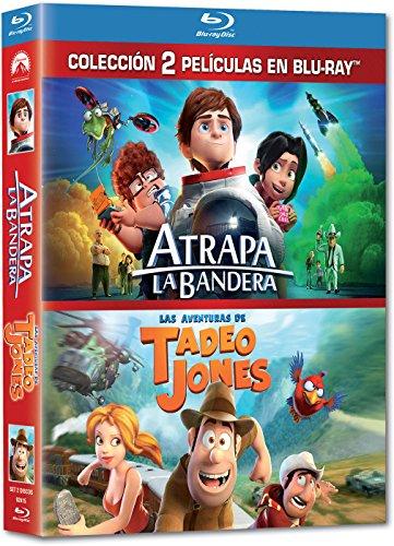 Pack: Atrapa La Bandera + Tadeo Jones [Blu-ray]