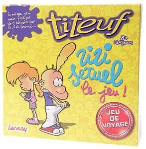 Lansay - 74910 - Titeuf - Jeu de Plateau - Titeuf Zizi Sexuel de Voyage