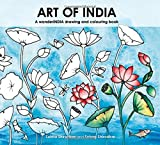 Art of India: A wanderINDIA drawing and colouring book
