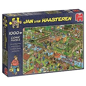 Jumbo 19057 Jan Van Haasteren The Vegetable Garden, 1000 Piece Jigsaw Puzzle