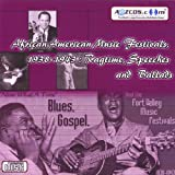 African American Music Festivals, 1938-1943 - Ragtime, Speeches and Ballads Audio Cd