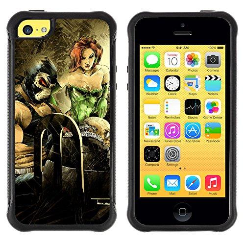 """ZAKO Cases / Apple Iphone 5C / """"Poison Ivy / Robusto Antiurto Custodia Portafoglio Snello caso copertura Shell armatura Case Cover Slim Armor"""