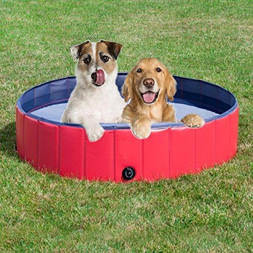 Pro Goleem Hunde Schwimmbad Hundepool für großen Hund 80cm*30cm