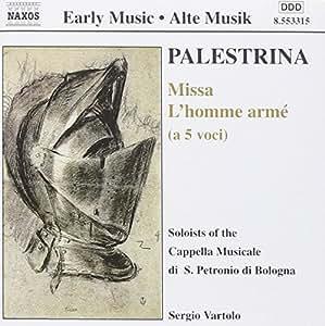 Palestrina/messe Homme Arme