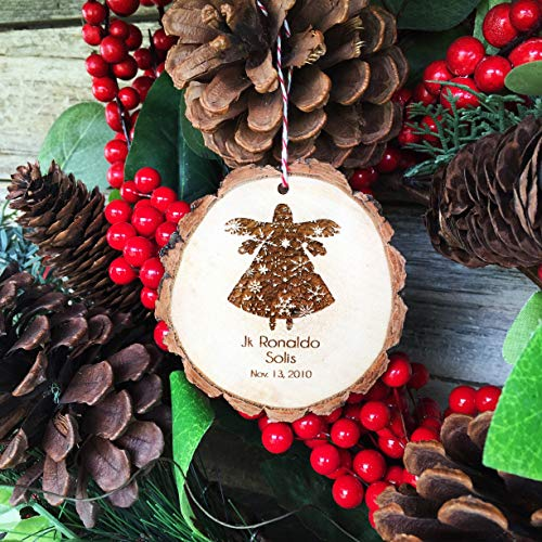 Claude16Poe Personalisierte Angel Baby Ornament