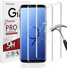 Thinkcase Galaxy S9 Schutzfolie Panzerglas, [2 Stück] Samsung Galaxy S9 Displayschutzfolie Panzerglas Glas Schutzglas Displayschutz Folie Screen Protector für Galaxy S9 [0.25mm 2.5D 9H Härtegrad]