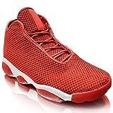 xelay Caballeros Baloncesto Hi Top Tobillo Zapatillas Tipo Bota Obtener para Malla Deportes Carrera Zapatos Número RU 6-11 - Rojo, 42 EU - Xelay - amazon.es