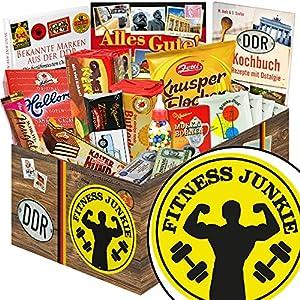 Fitness Junkie -- Geschenke für Fitnessfreaks -- DDR Geschenkbox