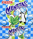 FIESTA Mentitas - Caramelo duro relleno de caramelo masticable - Sabor menta - 270 unidades