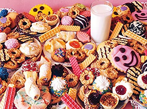 Milk & Cookies Jigsaw Puzzle (1000 pieces)