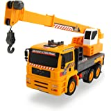 Dickie Toys 203806003 - Air Pump Mobile Crane, MAN Kranwagen, 31 cm