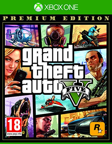 Grand Theft Auto V Premium Edition - Xbox One[AT-Pegi] [Edizione: Germania]