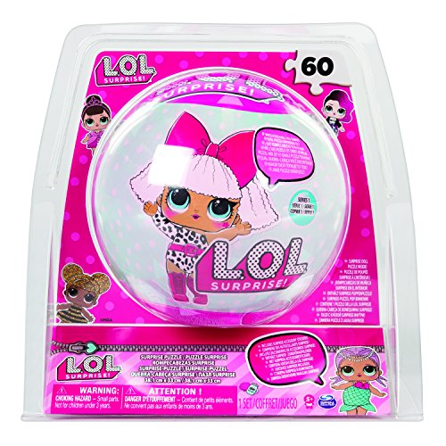 L.O.L. Puzzle in Ball 60pc(s) - puzzles (Jigsaw puzzle, Cartoons, Children, 5 year(s), Girl, 171.5 mm)