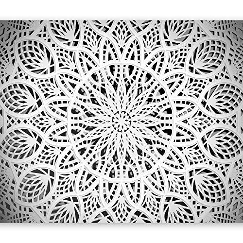 murando - Papier peint intissé 250x175 cm - Papier peint - Tableaux muraux - Déco - XXL - Mandala Orient Abstrait Abstraction 3D f-A-0581-a-b