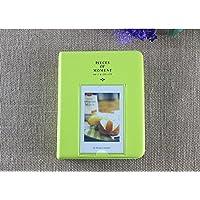 Sadkl 64 Pockets Mini Album Case Storage For Polaroid Photo FujiFilm Instax Film Size (Green)