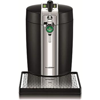 Krups VB700800 Machine à Bière Pression BeerTender Noir Tireuse à bière Pompe Fût 5L