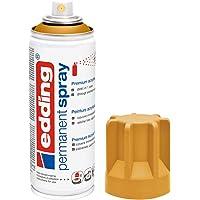 edding 5200 - Spray permanent - Ambre mat - 200 ml - peinture à pulvériser acrylique pour peindre et décorer sur presque…