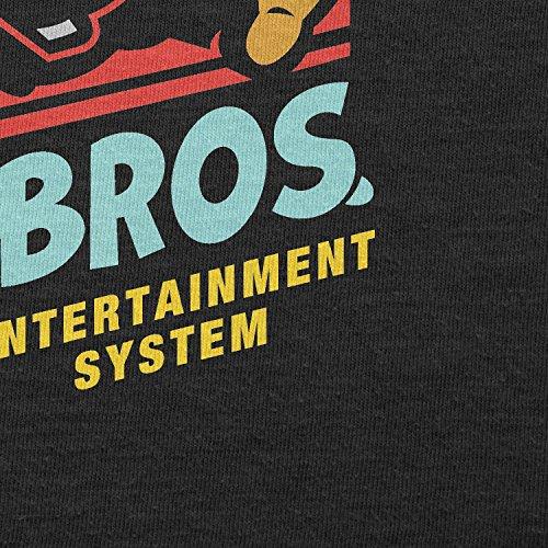 TEXLAB - Super Daft Boys - Herren Langarm T-Shirt Schwarz