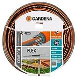 Gardena 18049-26 Tuyau Flex PVC Gris/Orange 50 m