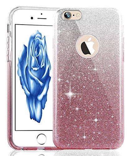 iPhone 7 Plus Crystal Clear TPU Case Hülle Silikon Gel Schutzhülle Rückschale Etui für iPhone 7 Plus 5.5 Zoll,iPhone 7 Plus Hülle Transparent,iPhone 7 Plus Hülle Silikon,EMAXELERS iPhone 7 Plus Hülle  TPU 127