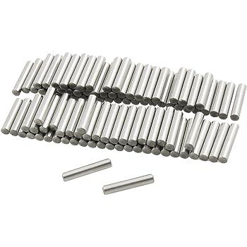 sourcingmap 100 Pcs Stainless Steel 1.1mm x 15.8mm Dowel Pins Fasten Elements