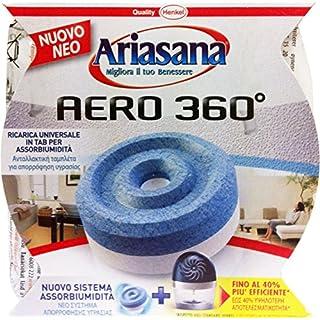 12 x Ariasana, feuchtigkeitsabsorbierend, 360° Nachfüllpackung, geruchsneutral, 450 g.