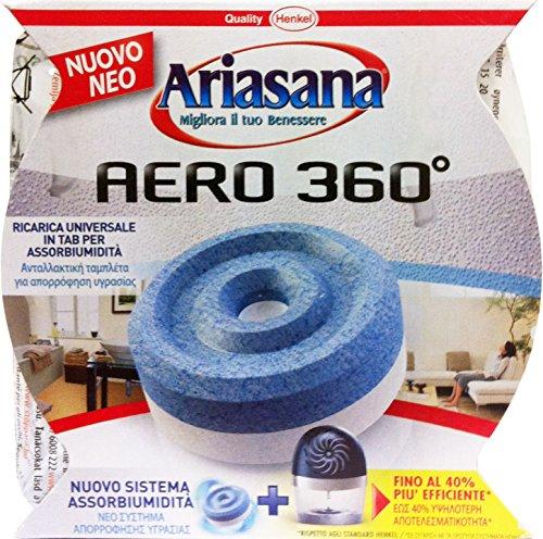 ARIASANA Aero 360 D'Humidite ° Recharge Sans Parfum 450 G.