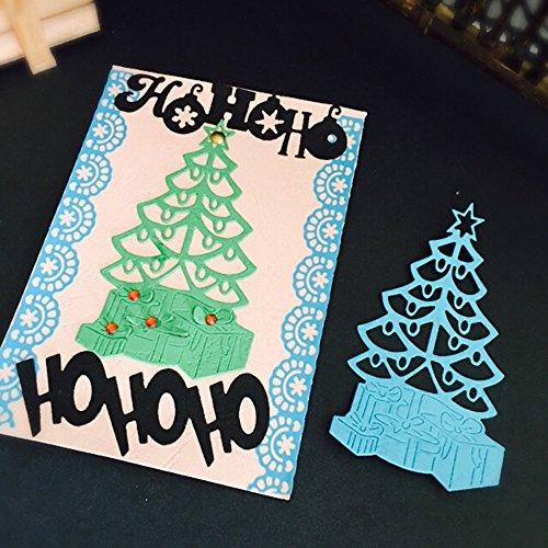 SULIFOU furnitureanddecor Scrapbooking Weihnachten Halloween Papier Dekor Stanzformen Schablone Scrapbooking DIY Handcrafts (Halloween Körbe Zu Machen)