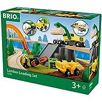 Brio - Set Circuito de Tren para Transportar Troncos (33789)