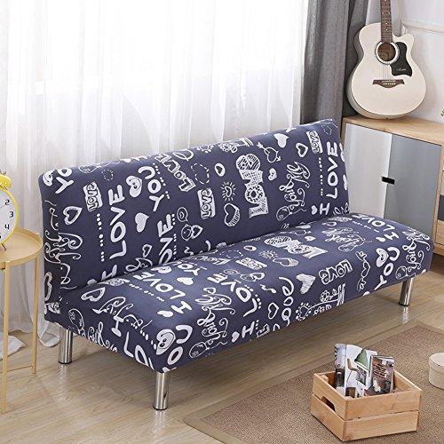 YEARLY Sin Brazos Protector para sofás, Cubierta Completa Funda de sofá Moderno Antideslizante Muebles Protectores Sala de Estar Funda Cubre sofá-B 160-190cm(63-75inch)