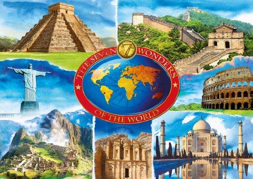 Imagen principal de Ravensburger 19116 7 maravillas del mundo - Puzzle (1000 piezas)