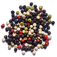 5 Colour Mixed Whole Dried Peppercorns (Black | White | Pink | Green | Pimento) Free Postage (100g)
