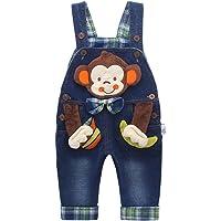 Kidscool Baby Girls Casual Soft Denim Overalls Rabbit …