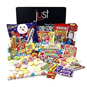 The Best Ever Retro Sweets GIANT Christmas Treasure Box (The Original Sweet Shop in a Box!)