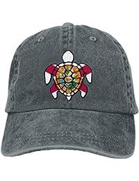 Walnut Cake Cappellini Baseball Sports Denim cap Florida Flag Turtle Men  Golf Hats Adjustable Plain cap 9929f80233aa