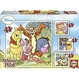 Educa Borrás 14966 - Progresivo Winnie The Pooh 6-9-12-16
