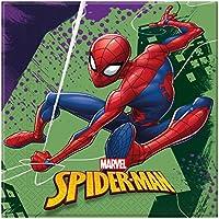 20Servilletas * Spider-Man * Cumpleaños para niños y Fiesta temática//Team Up 2018//Niños Fiesta de cumpleaños Napkins Servilletas de papel
