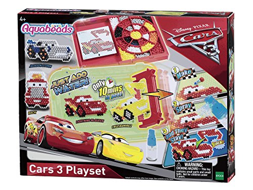 Aquabeads 30188 Epoch Traumwiesen Cars drei Bastelset, 5,1 x 31,1 x 24,1 cm