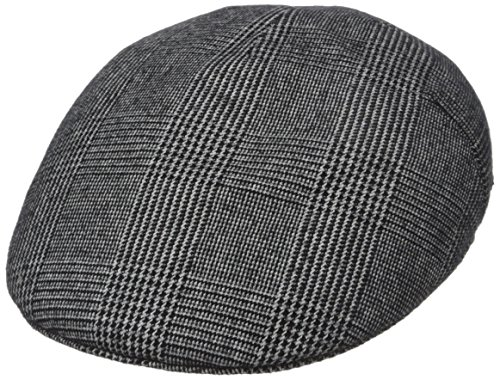 Kangol Men's Tweed Milano, Night Watch Plaid, Medium